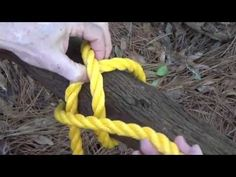 How to Tie a Constrictor Knot - YouTube
