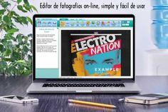Editor de fotografías on-line, simple y fácil de usar #editoresonline