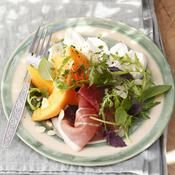 Salade melon et mozzarella - une recette Méditerranée - Cuisine
