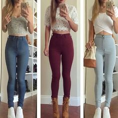 How lovely these outfits are! Which one you like most?