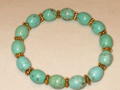 Hey, I found this really awesome Etsy listing at https://www.etsy.com/listing/103226874/turquoise-stretch-bracelet