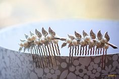 Giveaway March 2014 – MYRNA – Set of two rhinestone hair combs , worth £40 ($65)