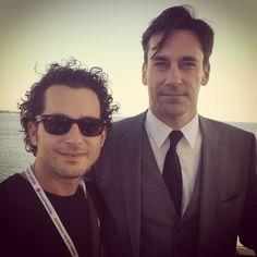 que chevere!!! el crossover de MadMen (con Don) con el Festival de Cannes