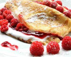 Himbeerpfannkuchen  Rezept eingesendet von: Toni S.  #Pfannkuchen #Rezept