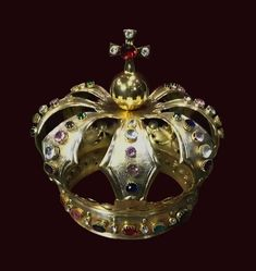 Silver-gilt crown of a statue by Anonymous from Poland, first half of the 18th century (?), Church of Immaculate Conception in Rawa Mazowiecka. Found in 2018 behind the main altar. Said to belong to king John II Casimir Vasa who was living in Rawa during Lubomirski's rebellion between 1665 and 1666. © Marcin Latka #jewellery #artinpl #jewels King John, Immaculate Conception, Altar, Anonymous, 18th Century, Poland, Crown, Statue, Jewels