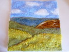 Felted wool... Like it so much!!!