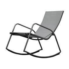 Καρέκλα ROCKING design από μέταλλο Π59,5xB98xY93cm Outdoor Chairs, Outdoor Furniture, Outdoor Decor, Metallica, Design, Home Decor, Decoration Home, Room Decor, Garden Chairs