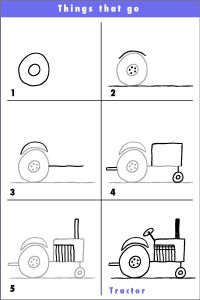 Learn to draw with Rich - SM_tractor