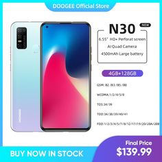 """DOOGEE N30 Full Netcom 6.55"""" inch Quad Camera 128GB ROM Octa Core Global Version Cellphone 4500mAh Large Battery Android 10 OS doogee s90,doogee y8,doogee s95 pro,doogee n20,doogee mix 2,doogee y7,doogee s55,doogee s68,doogee s95,doogee x55 case,doogee x55,doogee carro,doogee x50,doogee mix,doogee s90 pro,doogee s80,doogee x5 pro,doogee x6,doogee y9 plus,doogee smartphone,doogee mobile,doogee s70,doogee n20 pro,téléphone doogee,doogee y8 plus,doogee x30,doogee phone,doogee s68 pro,doogee x20"""