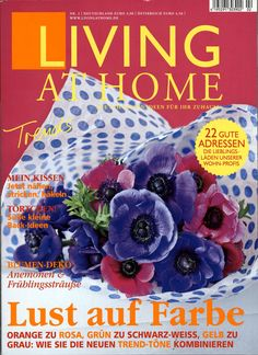 Living at Home Ausgabe Cover, Pink, Monochrome, Homes, Deco