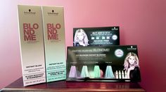 Schwarzkopf Professional came out with a new product called BlondMe Blush! These are temporary delicate blonde refining shades. The 4 pastel shades are Strawberry, Ice, Jade, and Steel Blue. We have an awesome special going on with these new colors! If you purchase 2 of these colors, you will get 3 of our awesome Schwarzkopf Professional kiss sponges to apply your color, as well as the perfect protector shower cap! #lasalonBianca #BestSalon #BestSpa #BestSaloninRochesterNY…