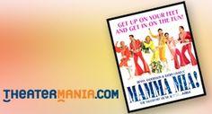 Smash Broadway hit MAMMA MIA!  I want to see :)
