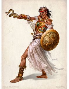 m Cleric Egyptian Heqet by KateMaxpaint on DeviantArt Egyptian Goddess, Egyptian Art, Egyptian Temple, Fantasy Races, Fantasy Rpg, Egypt Concept Art, Religion, Sword And Sorcery, Fantasy Setting