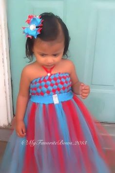 How to make a tutu dress with woven top