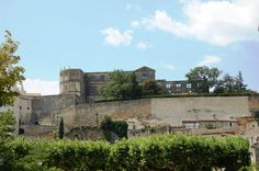 Chateau de Grignan, Drôme: surrounded by vineyards and lavender fields