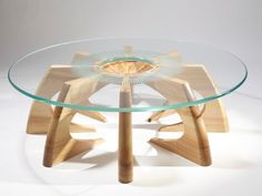 Table bois Design contemporain,moderne ,tendance decodesign / Décoration