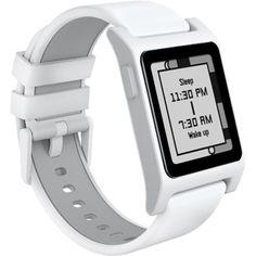 01a15c0351ec6 Pebble 2 + Heart Rate Smart Watch- White White