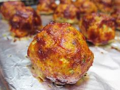 Bloatal Recall: Chicken Meatballs with Tomato-Balsamic Glaze