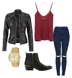 The Vampire Diaries by taraaucoin on Polyvore featuring Zara, maurices, Topshop and Steve Madden