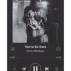 nyktifaes/2016/08/30 18:44:46/I know you're nothing like mine 'Cause she's walking on sunshine And your love would tear us apart 〰🎶 #arcticmonkeys #alexturner #song #spotify #screenshot #quote #lyrics  #listen #dark #love #sunshine #summerdays #music #onefortheroad #album #play