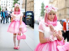 lunie-chan - Love this combination of pinks and sheer