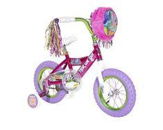 7ad6ec25910 12 Inch Trolls Girls' Bike Pink/Purple By Dynacraft Troll Party, Tricycle,.  SnagADiscount