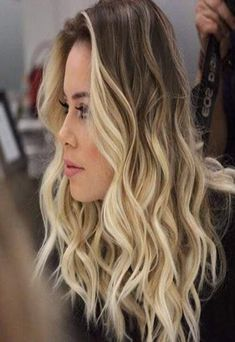 Remy Human Hair Sew in Weft Dark Brown to Blonde Balayage – Women Fashion Dark Brown To Blonde Balayage, Blond Ombre, Brown Hair With Blonde, Ombre Brown, Short Ombre, Long Blond, Ash Brown, Short Blonde, Golden Brown
