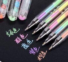 10 pcs/lot Cute Kawaii Gel Pen WaterColor Marker Water Chalk Pen for Black Board Photo Album Scrapbook Decor Free shipping 232-in Gel Pens from Office & School Supplies on Aliexpress.com | Alibaba Group