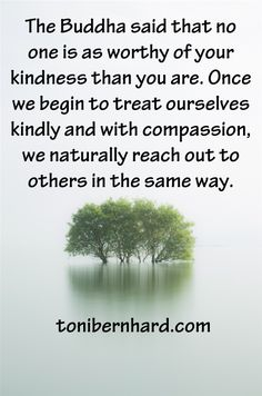 """Divine Spark:  """"The Buddha said that no one is as worthy of your #kindness than you are. Once we begin to treat ourselves kindly and with #compassion, we naturally reach out to others in the same way."""""""