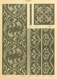 The new filet crochet book; original designs wh...