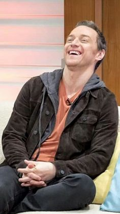 Love his laugh ...James Mcavoy