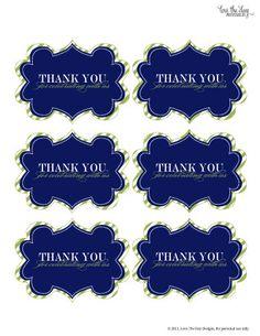 thank u printable