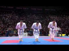(2/2) Karate Japan vs Italy. Final Male Team Kata. WKF World Karate Championships 2012 - YouTube