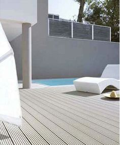 Wood Floor, Outdoor Furniture, Outdoor Decor, Sun Lounger, Flooring, Home Decor, Wood Flooring, Chaise Longue, Decoration Home