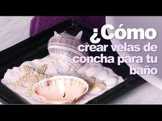 Crea unas velas de concha para decorar tu baño by Kleenex® Cottonelle® U...