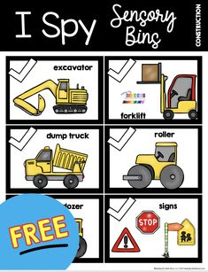 FREE PRINTABLE to go with sensory bins - kindergarten sensory bins - beginning the school year - back to school - multipurpose items - science and social studies - all about writing - educational matching skills - imagination Quiet Time Activities, Sensory Activities Toddlers, Preschool Games, Sensory Bins, Preschool Classroom, Sensory Table, Sensory Play, Kindergarten Sensory, Kindergarten Freebies