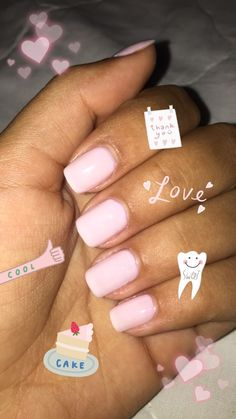 Snap nails Manicure, Mani Pedi, Snapchat, Pink Lily Boutique, Nails Tumblr, Fake Photo, Tumblr Photography, Trendy Nails, Lettering Design