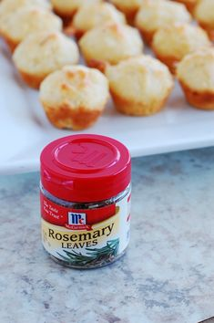 These Rosemary Goat Cheese Cornmeal Mini Muffins are full of flavor ...