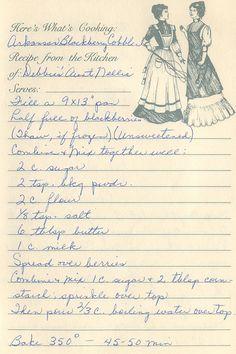 Recipes #oldfashioned #recipes #vintage