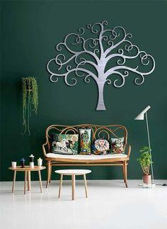 Giant Tree of life Metal Art Abstract Wall Decor - wall decor, diy tree crafts