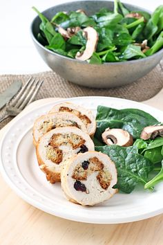 Cranberry and Sage Dressing Stuffed Chicken Breasts | Udi's® Gluten ...