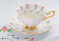 Royal Albert bone china England tea cup and by VieuxCharmes