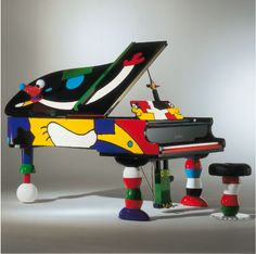 Schimmel Concert Grand: artist Ottmar Alt.......if it's hip, it's here