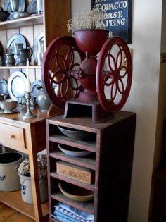 Antique Coffee Grinder...