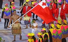 """Mr. Tonga"" - Pita Taufatofua in the Rio Olympics Opening Ceremony"