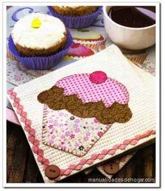 Manualidades y decoracion: Como hacer individuales patchwork  infantiles. Mol...
