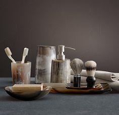 horn bath accessories.