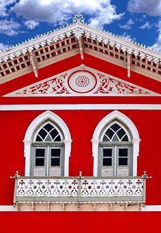 """Olinda - Pernambuco, Brasil  - """"A casa vermelha"""""""