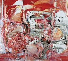 Cecily Brown. Title: The Girl Who Had Everything (1998). Medium: Oil on Linen. Size: 254 x 279 cm.