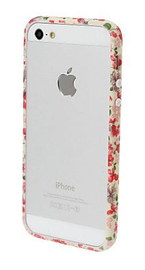 If full phone cases aren't your jam, these sweet floral phone bumper is a nice alternative. #iphone #phonecase #floral
